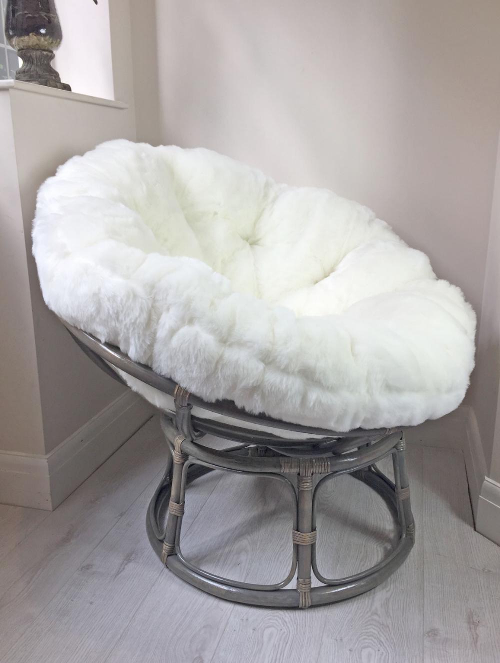 33++ Faux fur papasan cushion inspirations