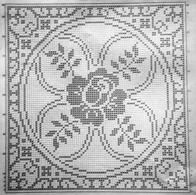 Decke Eckig Häkeln Crochet Crochetédiverses Pinterest