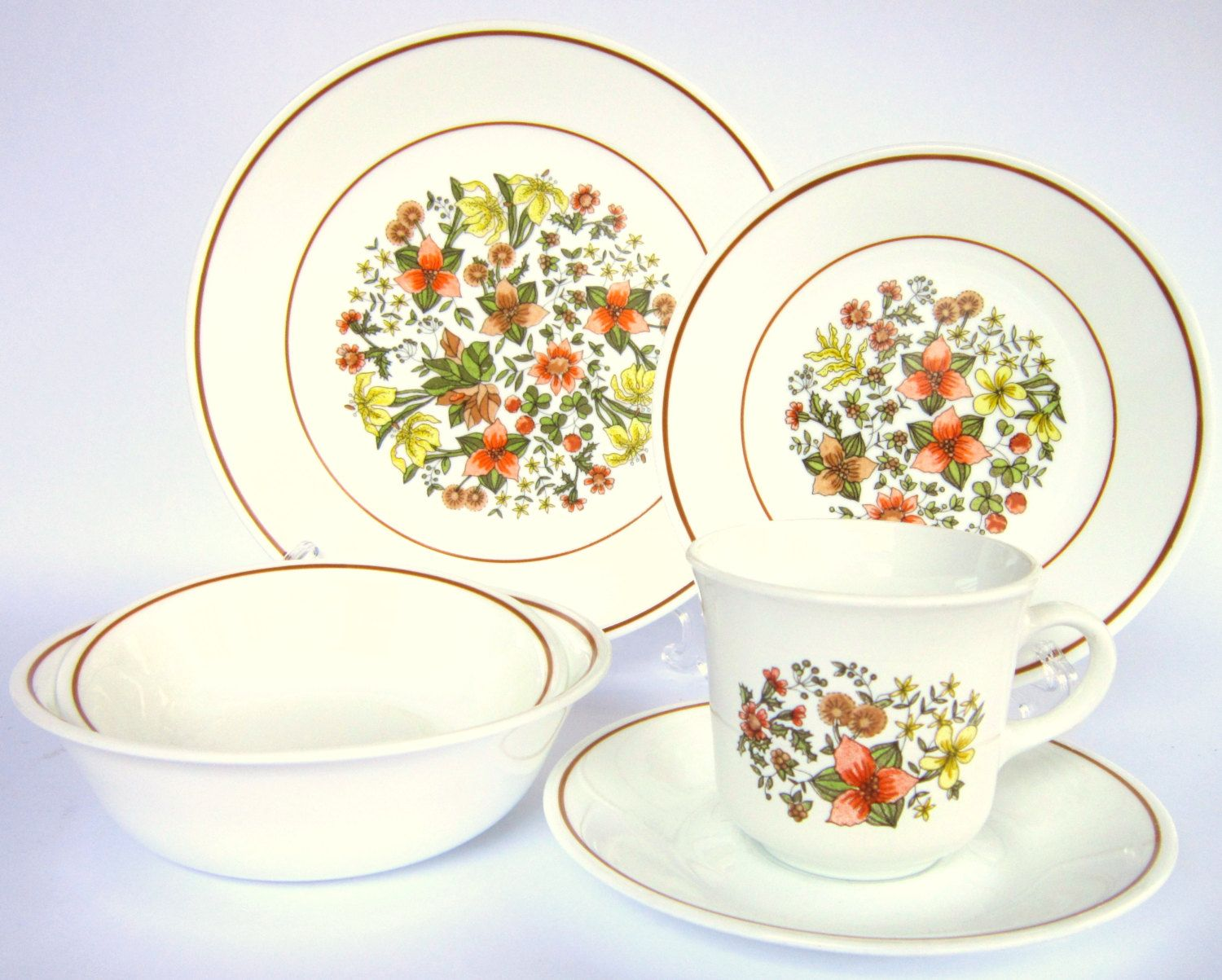 vintage corelle indian summer dishes date to the late 1970s cedar run vintage pinterest. Black Bedroom Furniture Sets. Home Design Ideas
