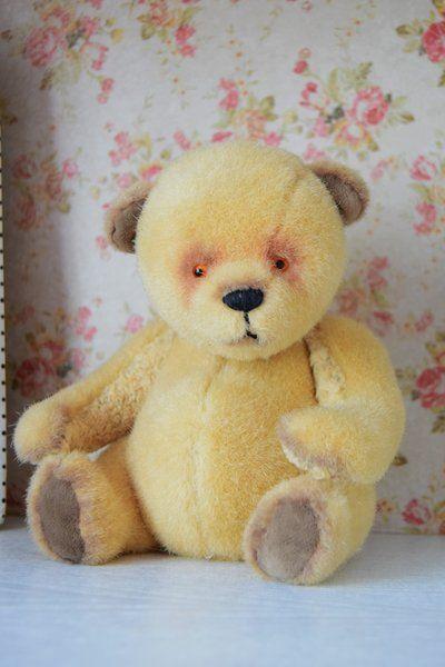Fat-bellied bear by tattytoy #teddybear
