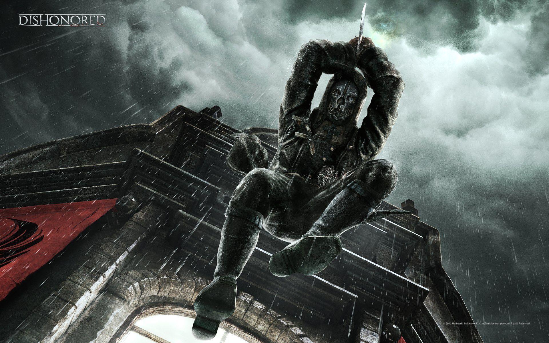 Dishonored Video Game Hd Desktop Wallpaper Wallpapersme
