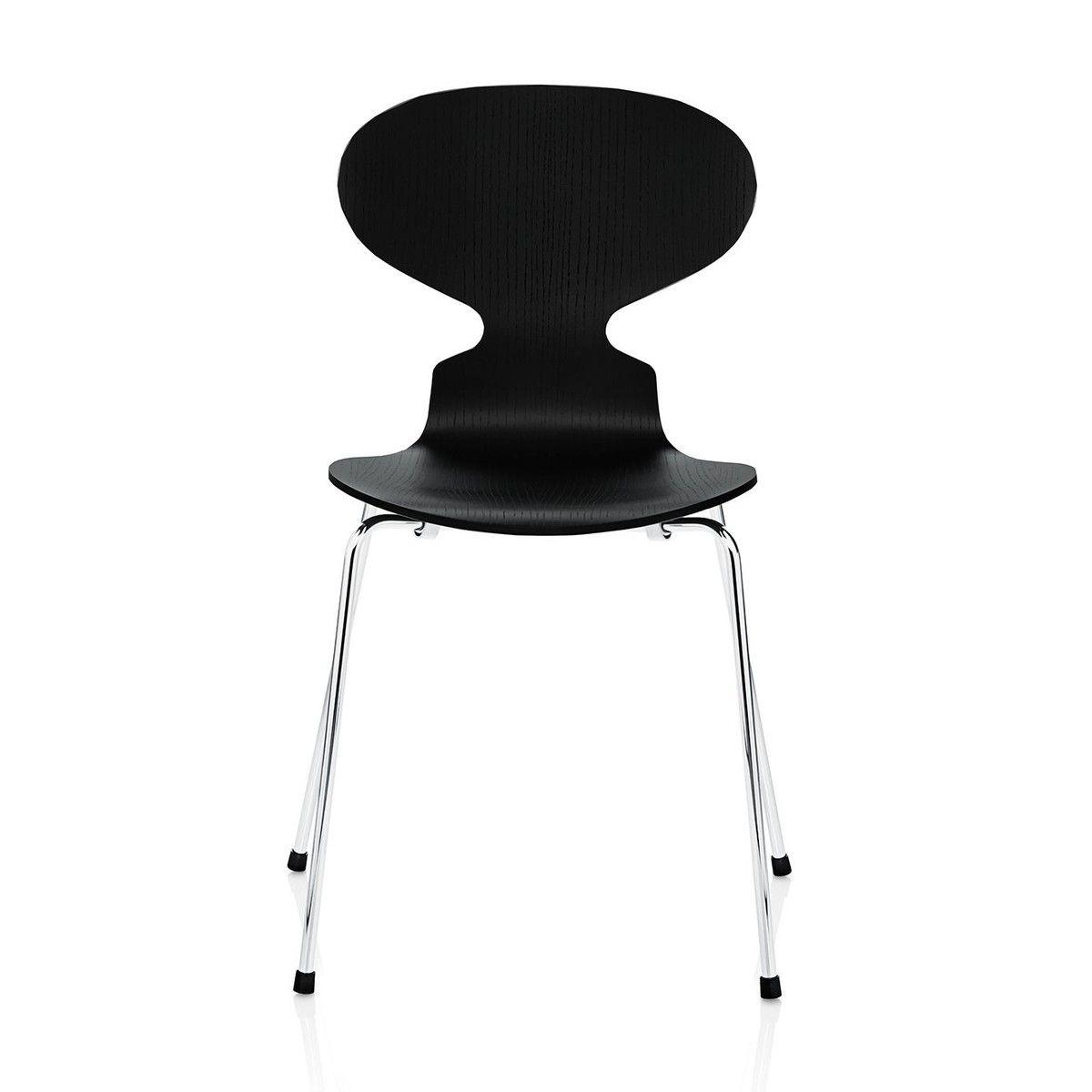 Ameise Stuhl ant chair dyed ash 46cm fritz hansen fritz und stuhl