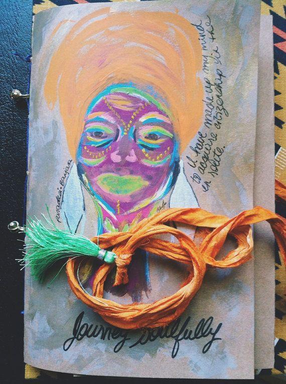 Paradesi Banjara Mantra Cahier  by Vagabroad on Etsy, $18.00 - idea journal :)