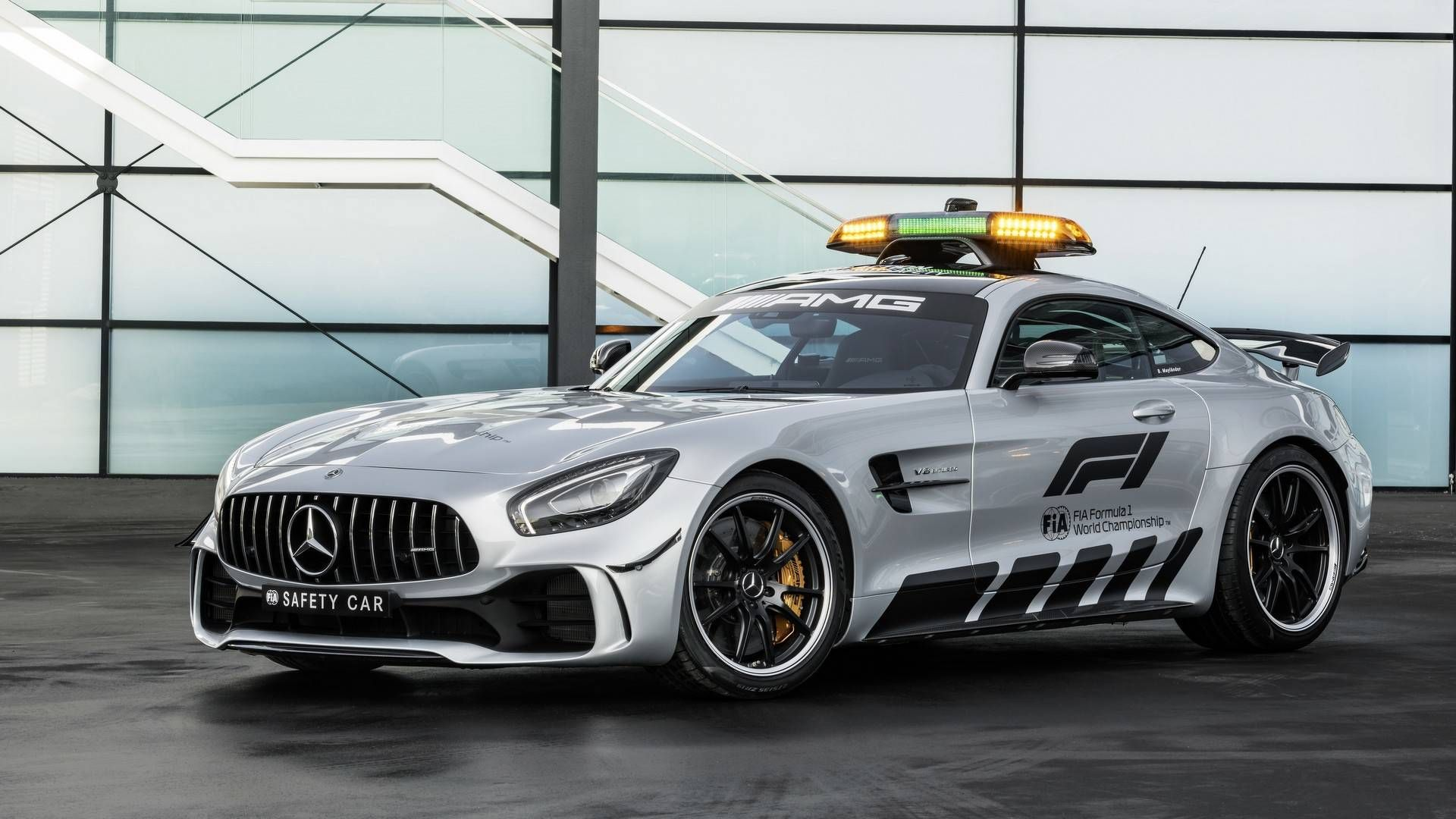 Mercedes AMG GT R Revealed As The Most Powerful F1 Safety Car Ever