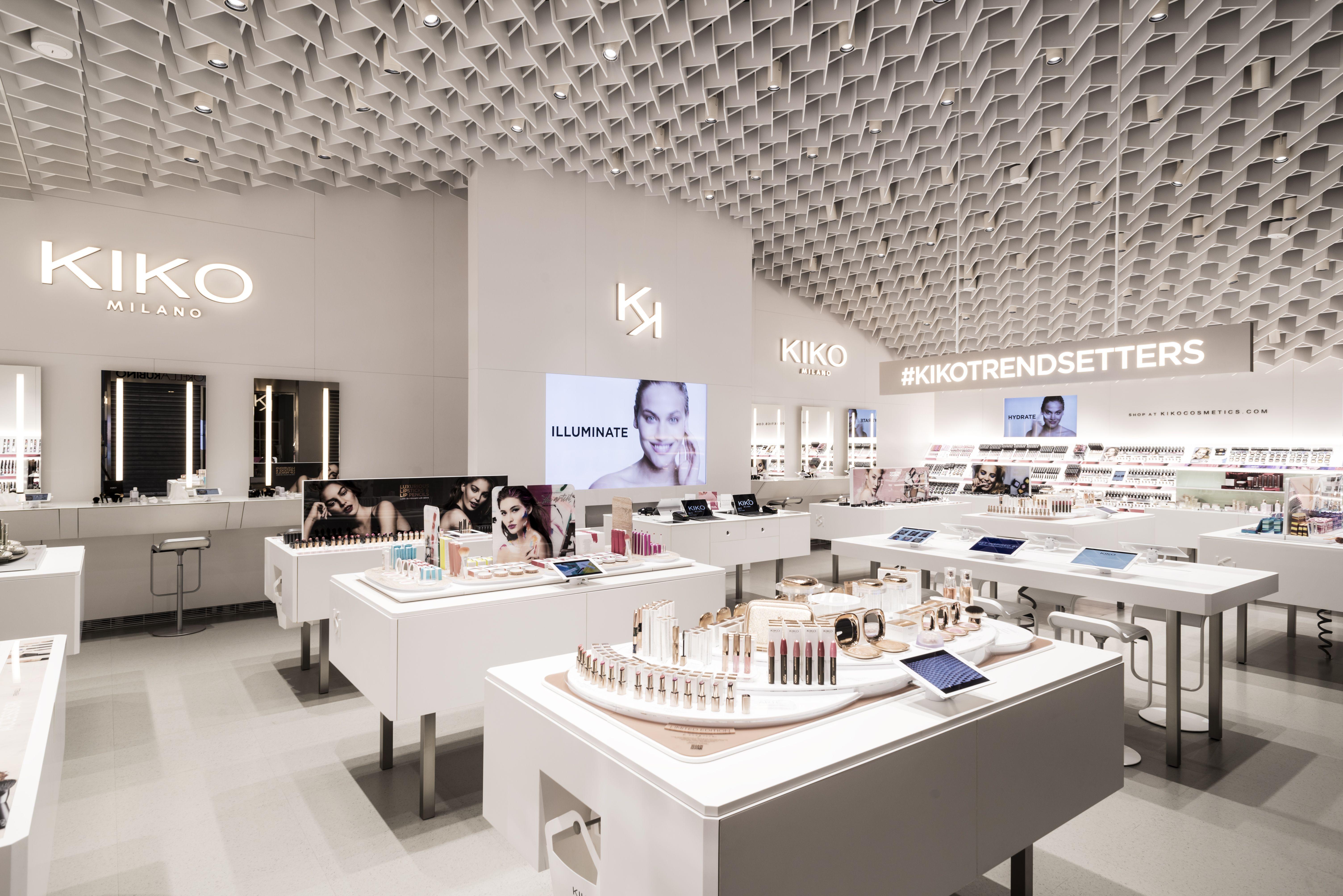 Kico Mobili ~ Kiko milano unveils new store concept store design architects