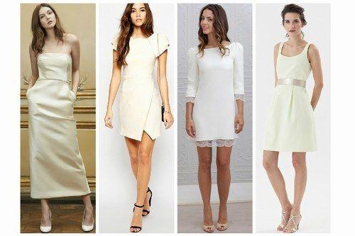 60 robes de mariée pour un mariage civil