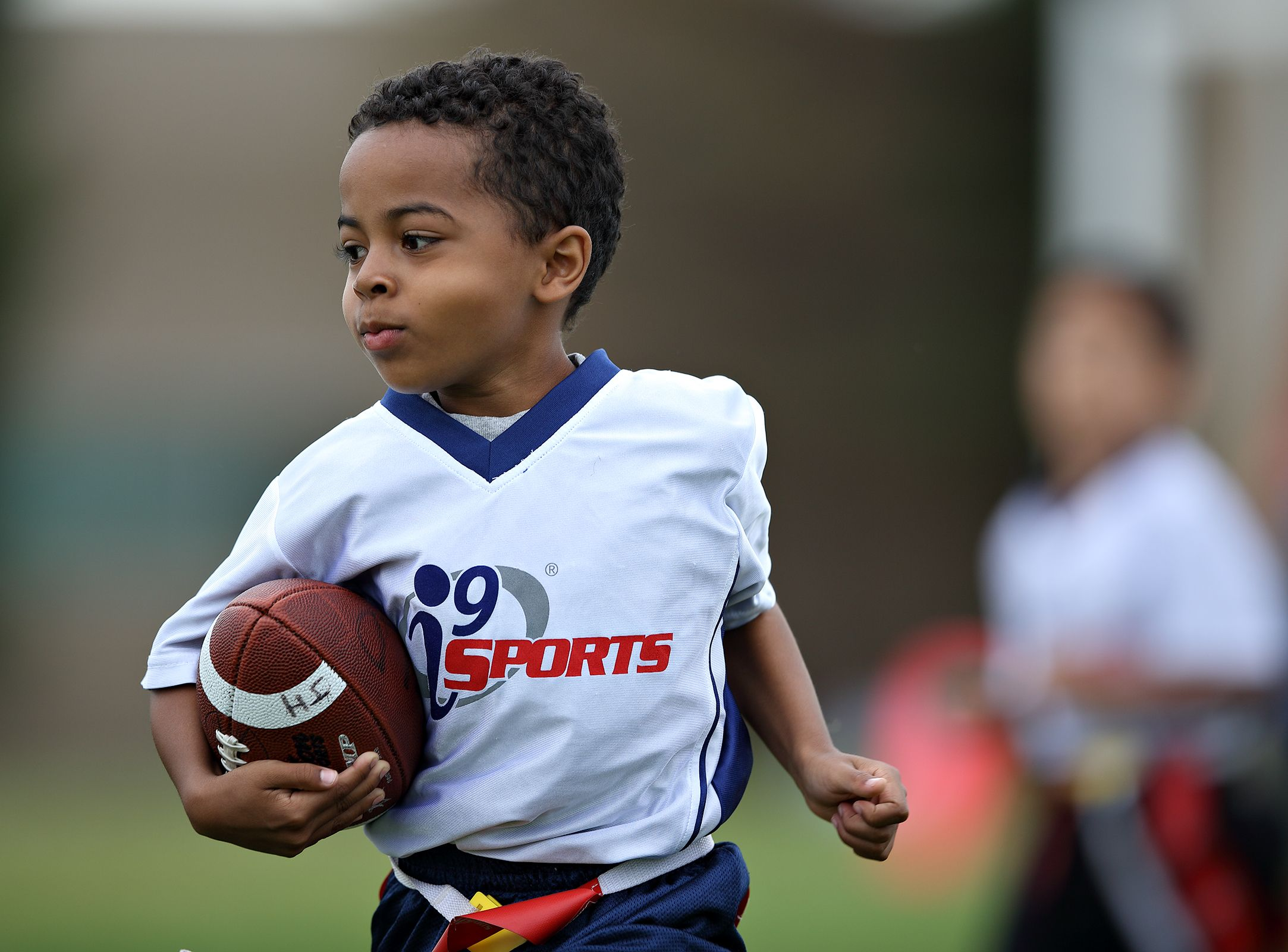 He could go all the way i9sports flagfootball sports