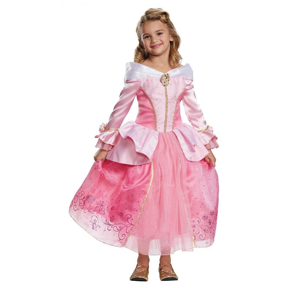 00526bbc133 Details about Sleeping Beauty Costume Kids Disney Princess Aurora ...