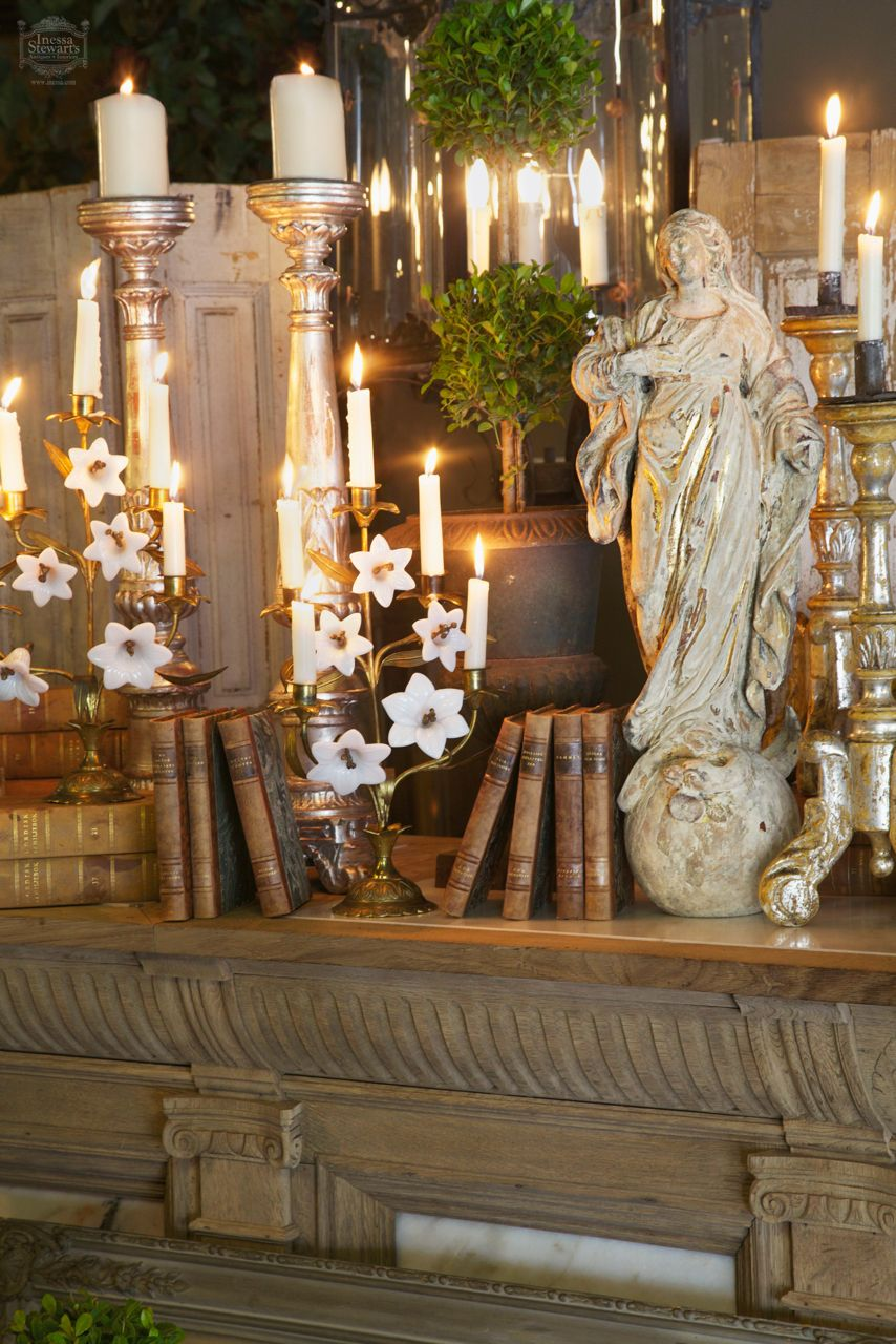 Antiques Christmas Holiday Decorations Furniture and Accessories | www.inessa.com