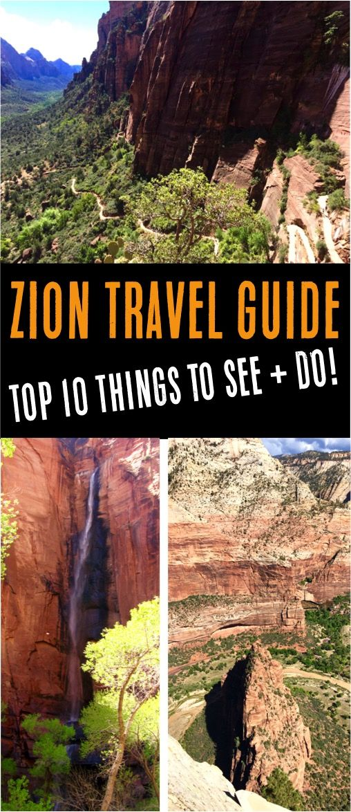 Zion National Park Hikes! (Ultimate Travel Guide)