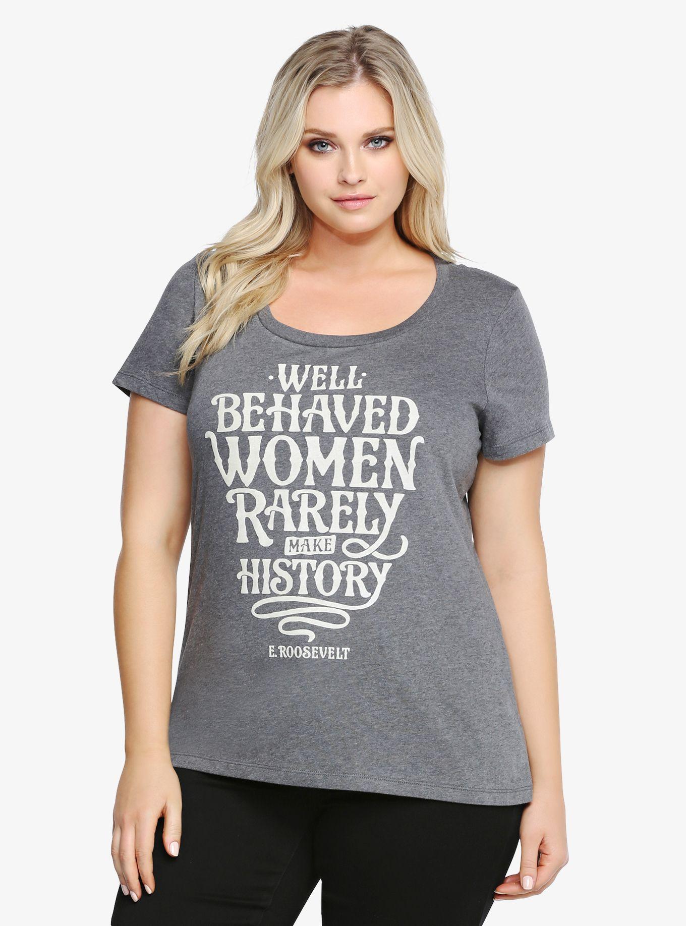 2fb91b50 Eleanor Roosevelt Tee | Torrid | Clothes | Fashion, Trendy plus size ...