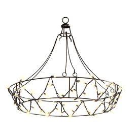 Gemmy 105 ft black chandelier string lights products i love gemmy 105 ft black chandelier string lights aloadofball Image collections