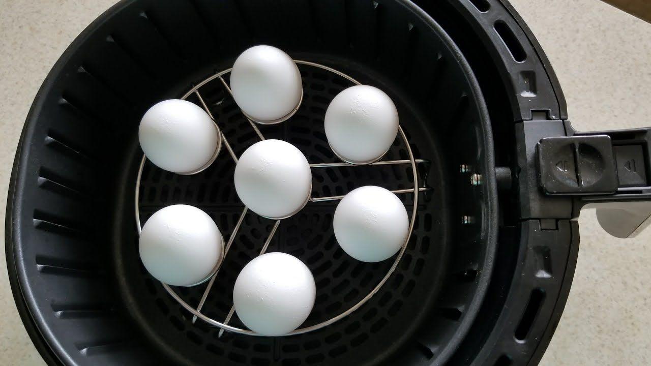Air fryer hard boiled eggs cooks essentials 53qt airfryer
