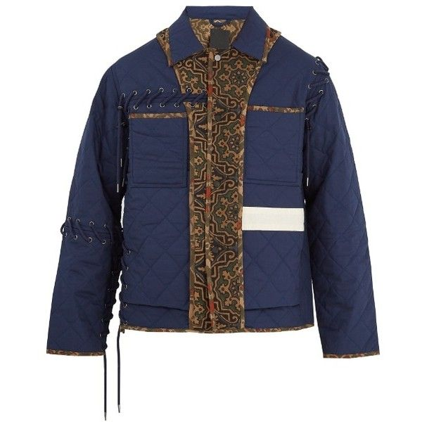 Craig Green Black Core Quilted Workwear Jacket Modesens Stand Collar Jackets Work Wear Craig Green