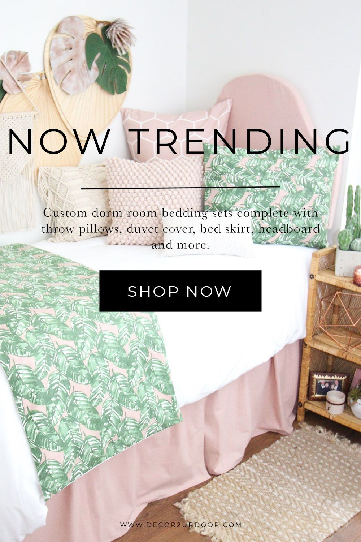 Dorm Bedding Packages In 2020 Dorm Bedding College Dorm Room