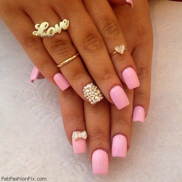 Nails: Pink nails trend for spring/summer 2013 | Nails inspiration ...