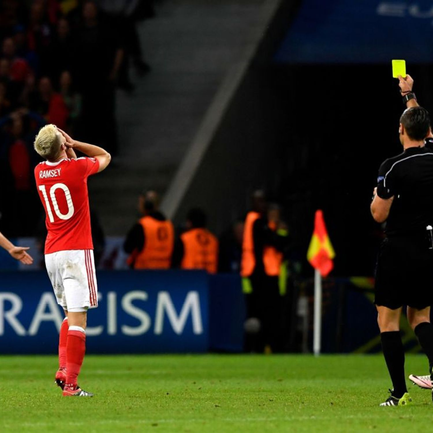 Suspending players like Aaron Ramsey for yellow cards is cruel punishment