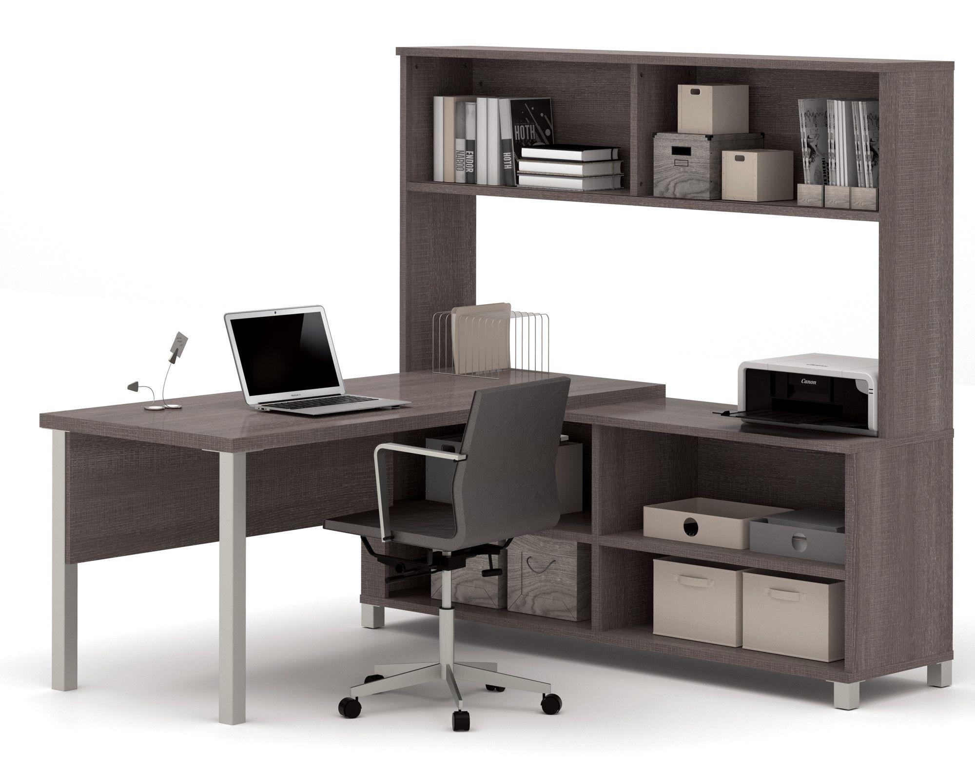 Ariana 3 Piece L Shape Desk Office Suite