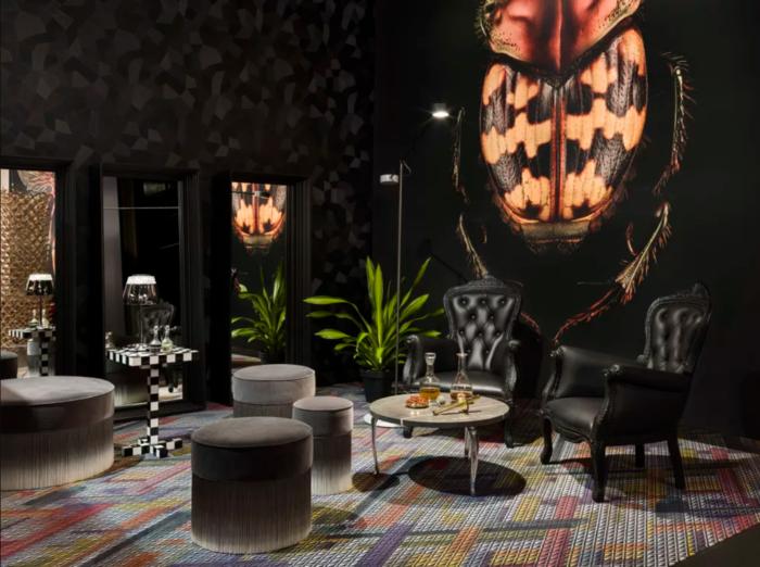 verspielte fransen beim einrichten sind wieder en vogue beleuchtung designer leuchten. Black Bedroom Furniture Sets. Home Design Ideas