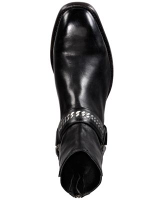 Frye Mens Weston Chain Harness Backzip Fashion Boot