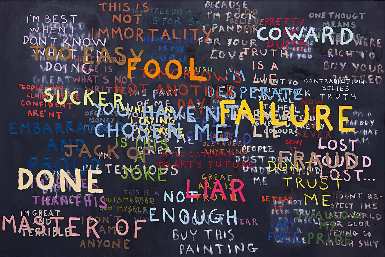 SEAN LANDERS | Fool Failure, 2003 | oil on linen    Sold for £32,450 at the Contemporary Art London Day Sale, 15 February 2013.