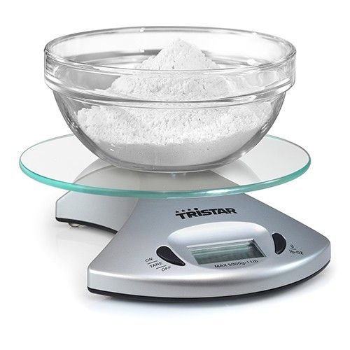 8,42 € Bilancia da Cucina Tristar KW2431 5kg Trasparente in vendita ...