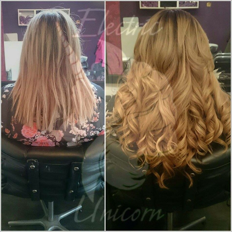 150g Of Prestige Hair Extensions Micro Rings Fitted By Tawnywright
