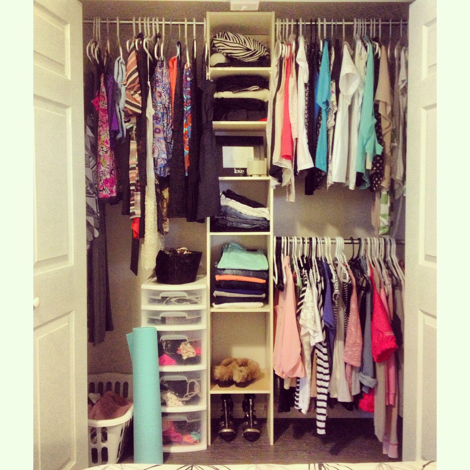 Organization Idea For Closet Redesign