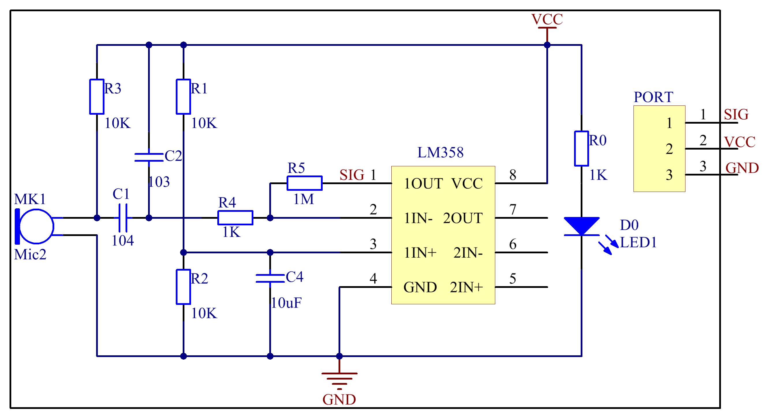 2 Siren Sound Use Ic555