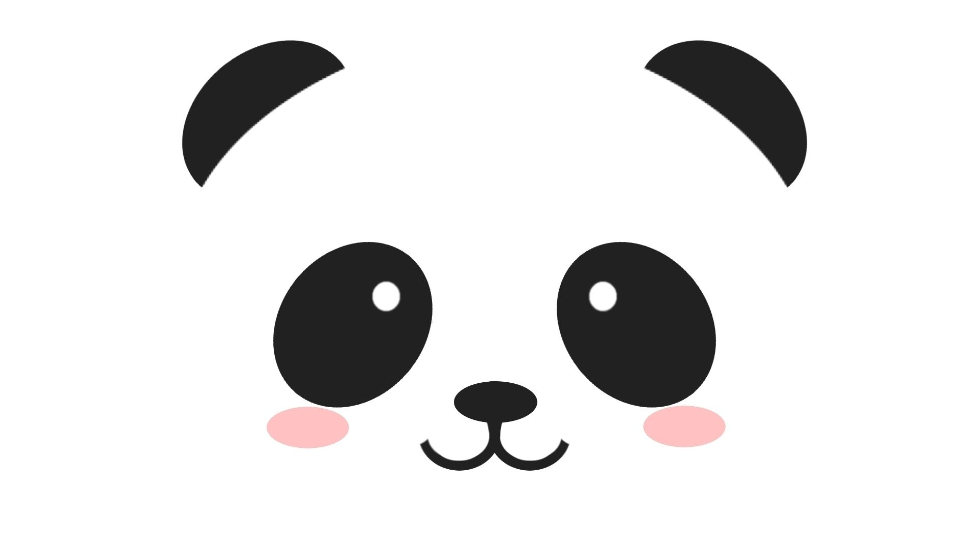 panda bear cake template - cute panda face panda birthday pinterest