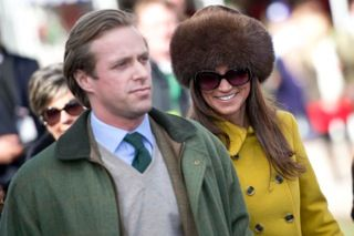 Pippa Middleton at the Cheltenham Festival www.gloucesterweddingphotographer.com