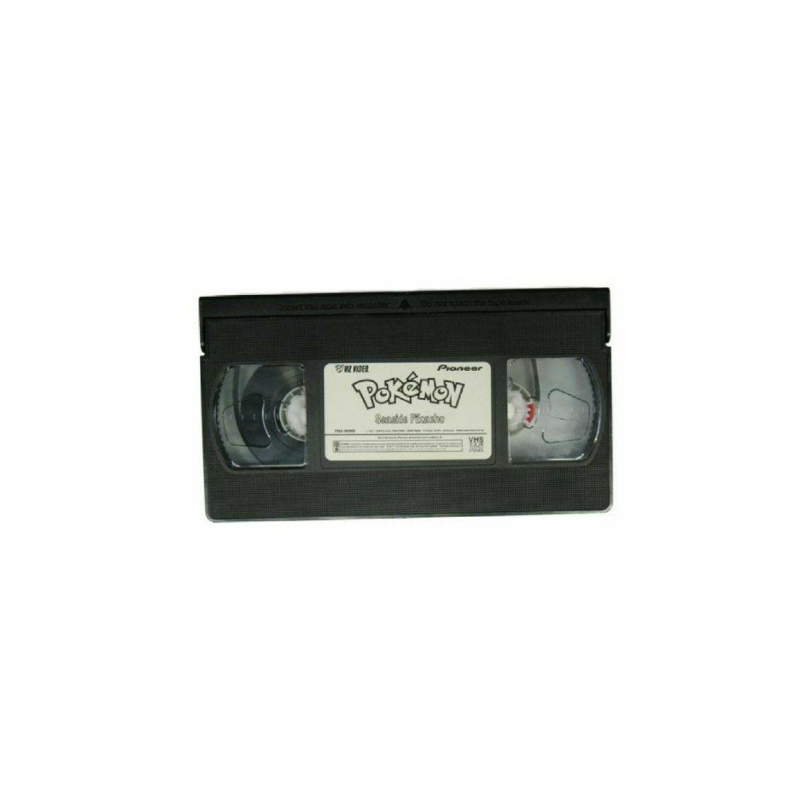 Black Pokemon Vhs Tape Polyvore Moodboard Filler Black Pokemon Black Aesthetic Nostalgia