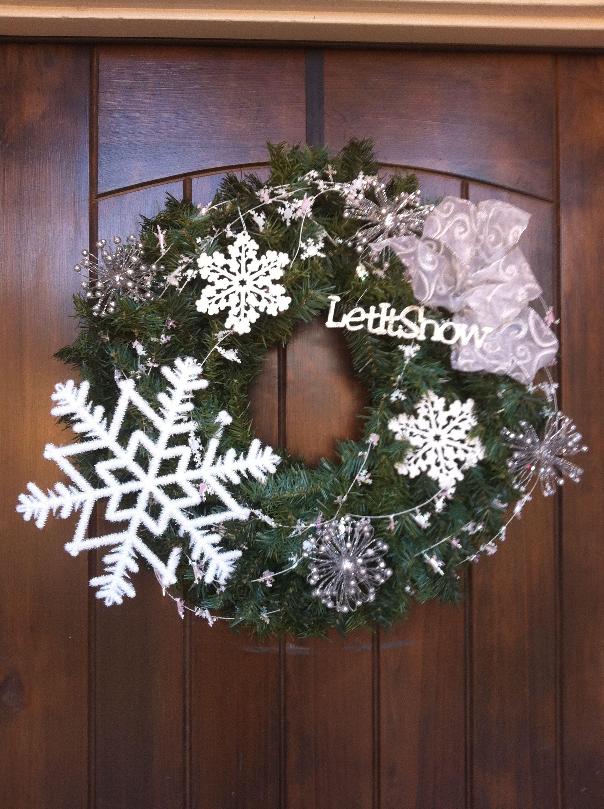 January Wreath Wreaths Pinterest