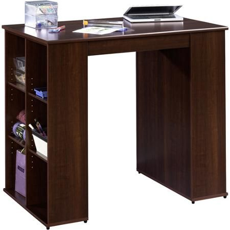 Mainstays Craft Table Cherry Walmart Com
