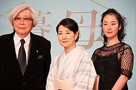 山田洋次監督が12月17日、通算84本目となる最新作「母と暮せば」の製作を都内のホテルで発表