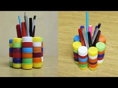 Pianeta bambini ~ Idee per lavoretti con tappi di plastica per bambini