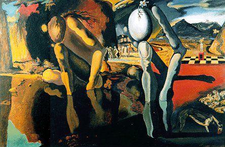 salvador dali metamorphosis of narcissus | Dali, The ...