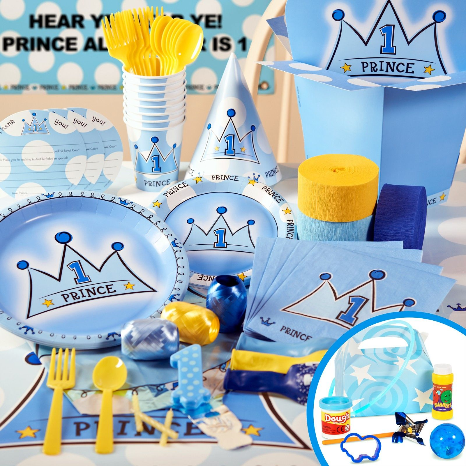 Prince Charming Party Supplies