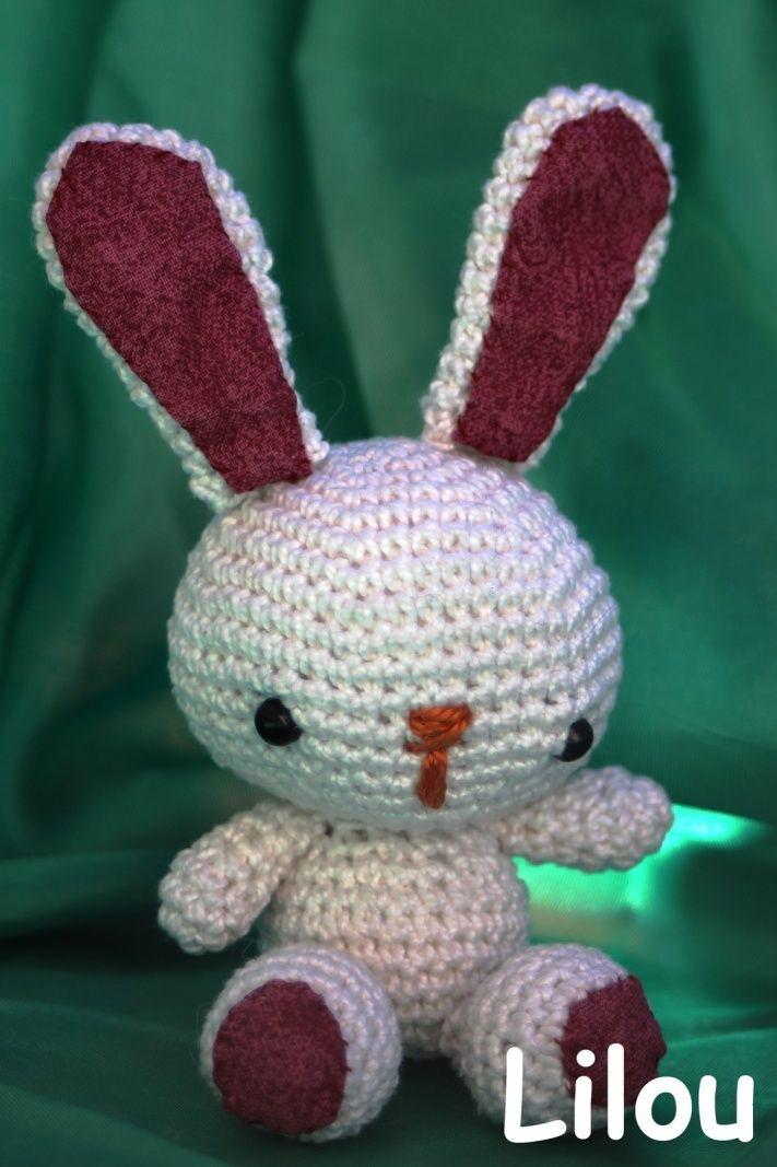 Patron tutoriel bunnie , le capu'choux lapin , amigurumi , crochet ... | 1067x711