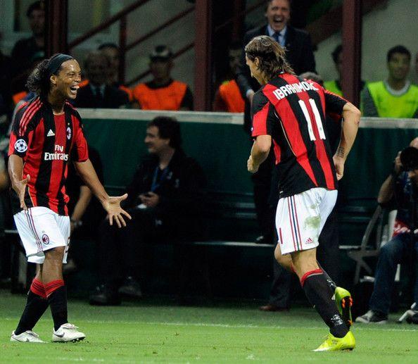 Ac Milan The Dynamic Duo Ronaldinho Ibrahimovic Zlatan