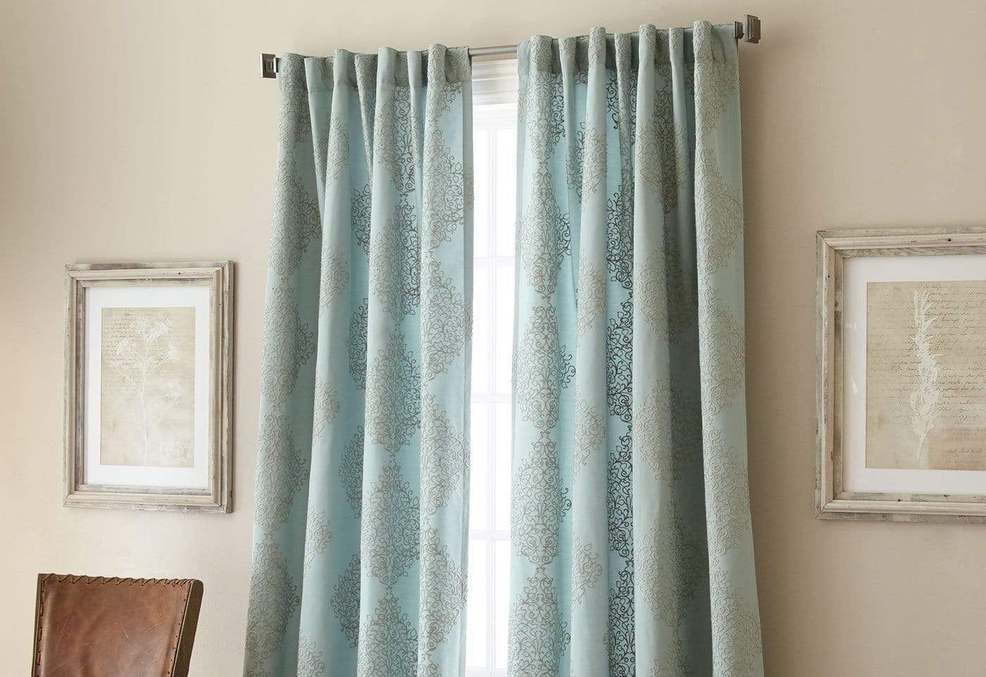 Talia Window Curtain Panel Drapes And Blinds White Paneling