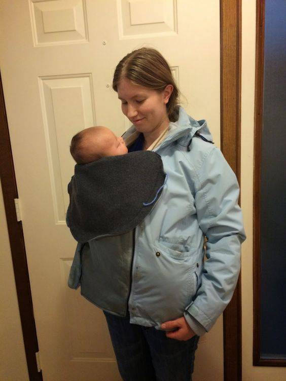 Standing At The Threshold: DIY Baby Wearing Coat Insert Tutorial!!!