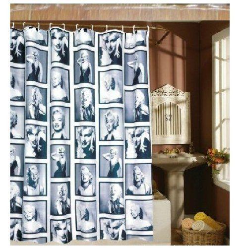 Marilyn Monroe Shower Curtain 71 Inch X 80 Inch Ecofriendly