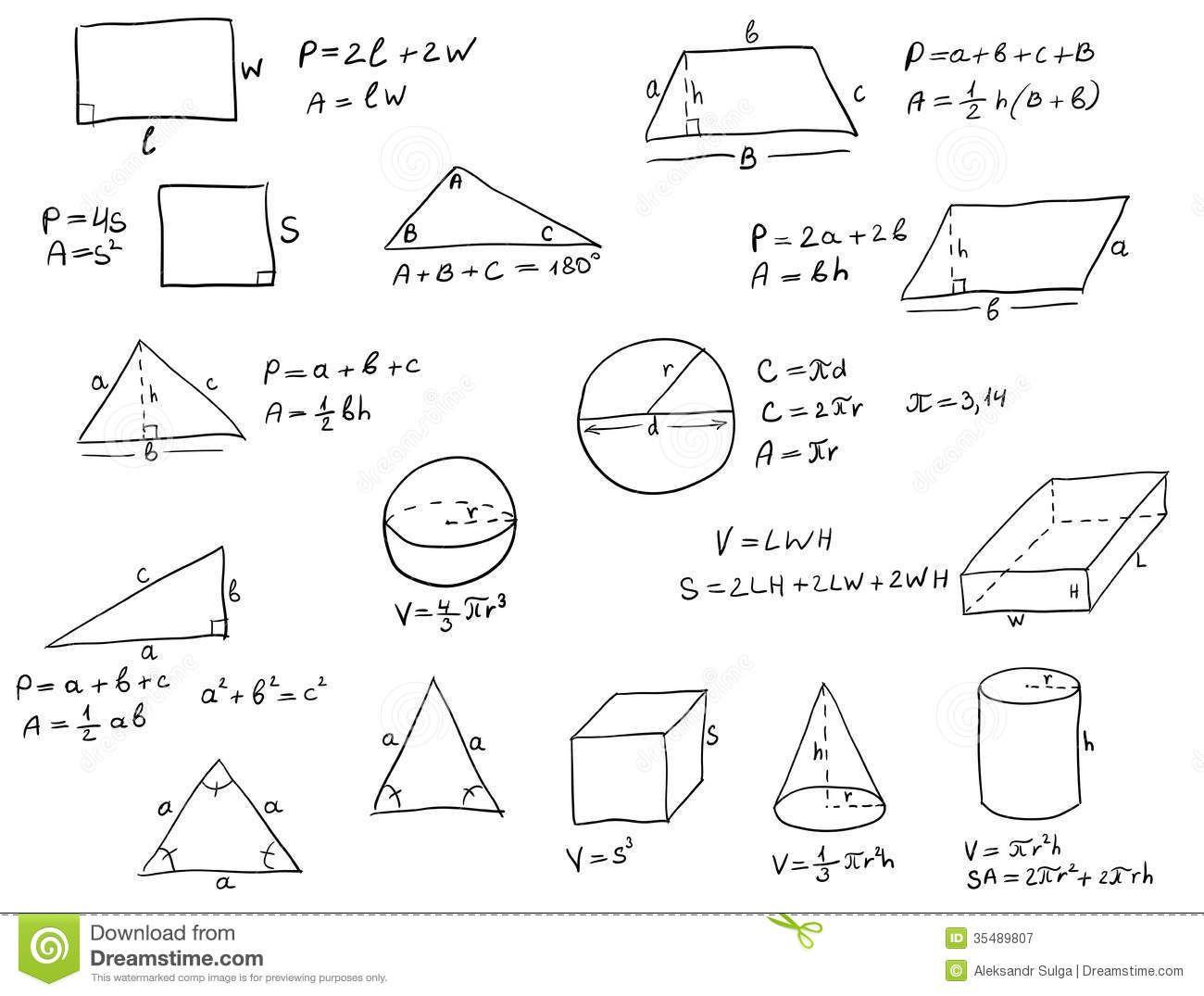 Geometry Equations