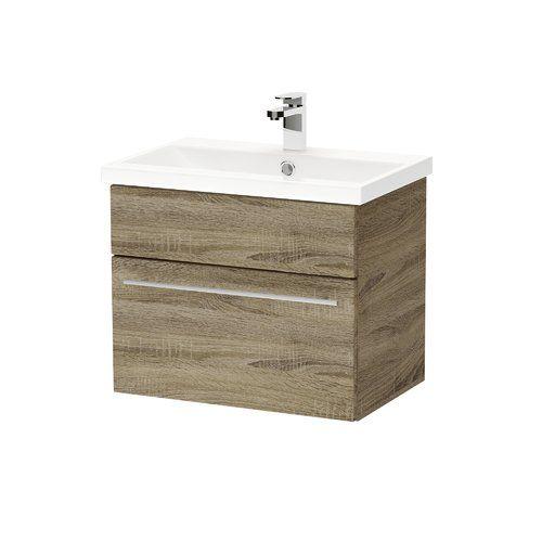 Belfry Bathroom Roseanne 600mm Wall Mount Vanity Unit Wall Mounted Vanity Furniture Vanity Vanity