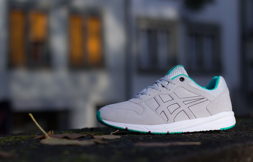 "Onitsuka Tiger Shaw Runner ""Soft Grey & Green"""