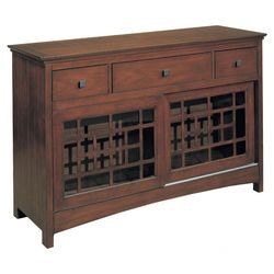 Enchantment Server In Walnut Indoor And Outdoor Furniture