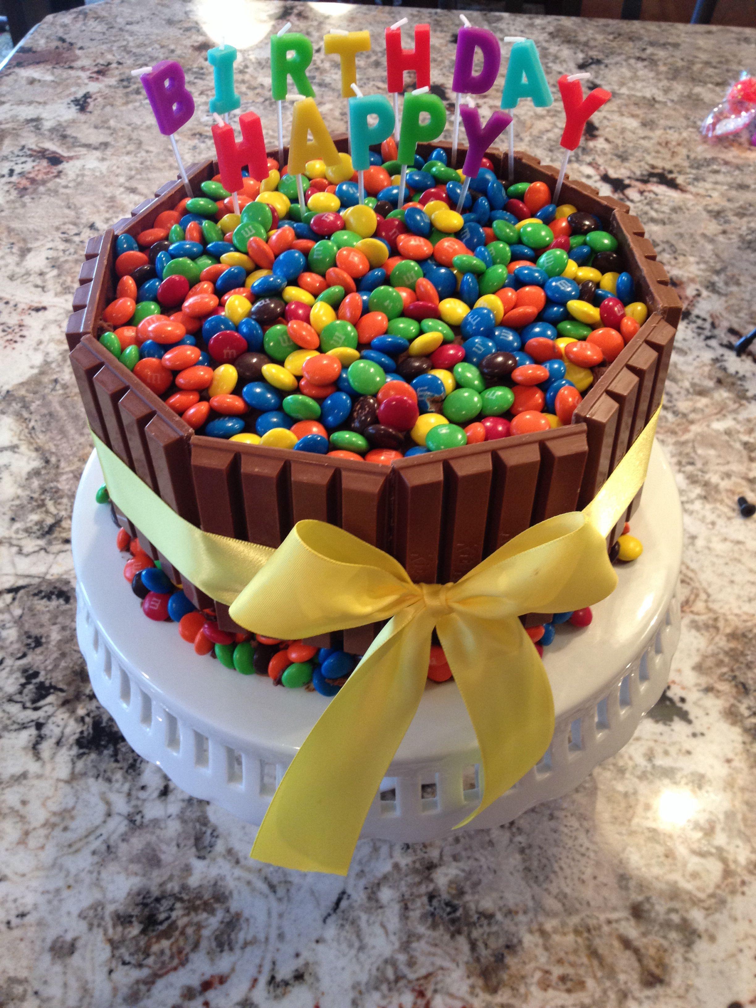 Candy birthday cake candy birthday cakes birthday cake