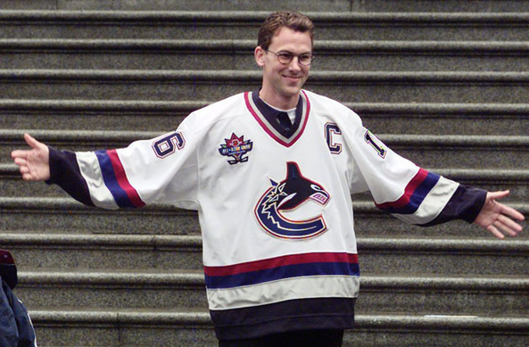 huge selection of 242c2 f79a0 Vancouver Canucks team captian Trevor Linden officially ...
