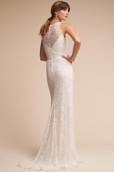 Tadashi Shoji Perdita Gown 400 Size 4 New Altered Wedding